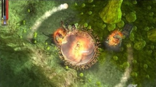Фасад обложки и скриншот игры PSP (U). Untold11