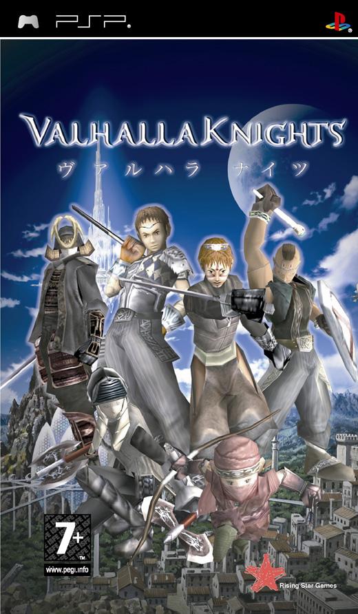 Фасад обложки и скриншот игры PSP (V). Valhal10