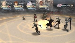Фасад обложки и скриншот игры PSP (V). Valhal12