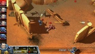 Фасад обложки и скриншот игры PSP (W). Warham12