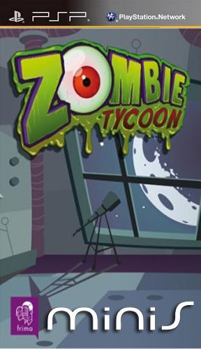 Фасад обложки и скриншот игры PSP (Z). Zombie10