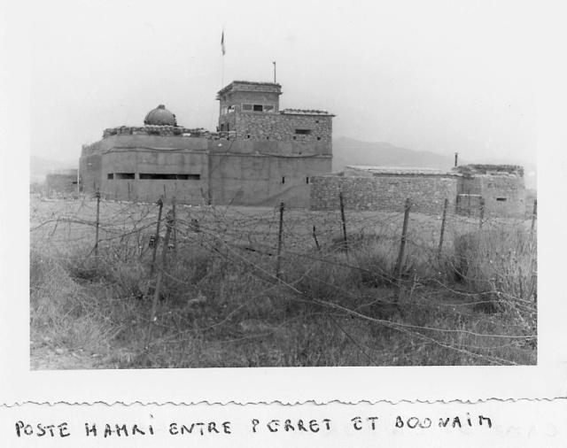 photos de 1961 et photos satellite poste de Bou Naïm Nord et environs Hamri10