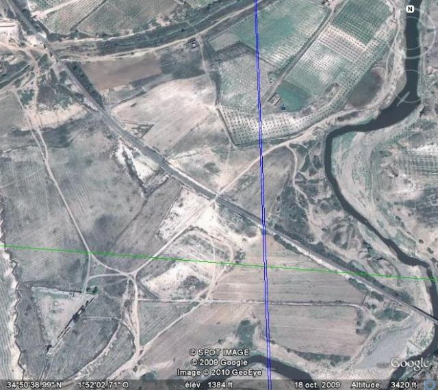 photos de 1961 et photos satellite poste de Bou Naïm Nord et environs Photo_13