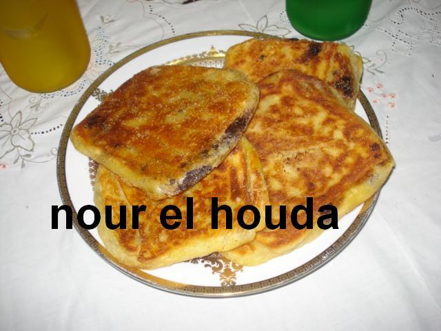 Msammen ou Mssaman marocain au chocolat râpé Dsc00832