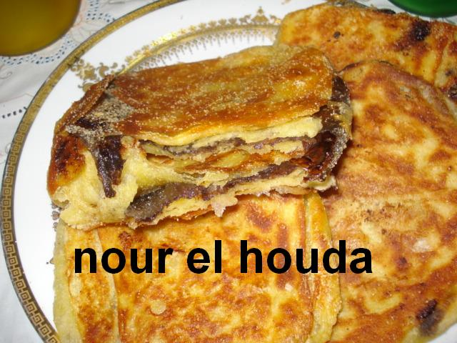 Msammen ou Mssaman marocain au chocolat râpé Dsc00833