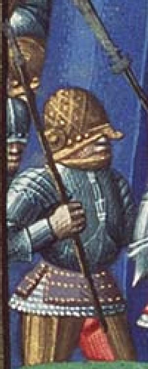casque à damier, mixte brut de forge blanc harnois ? 1475-112