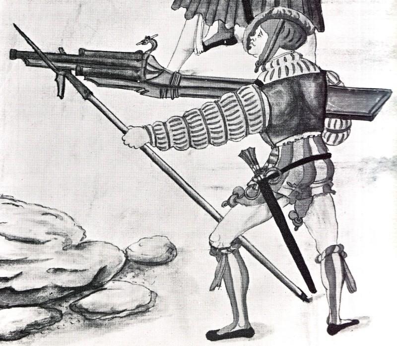 Corne à poudre, sac  à munition et boute feu  ? 1505_a10