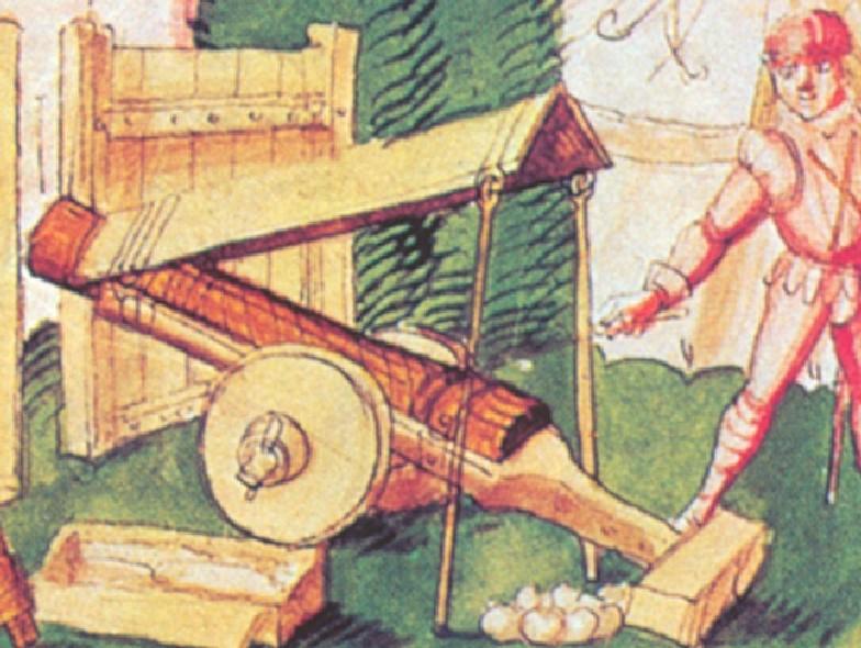 Corne à poudre, sac  à munition et boute feu  ? Fin_1510