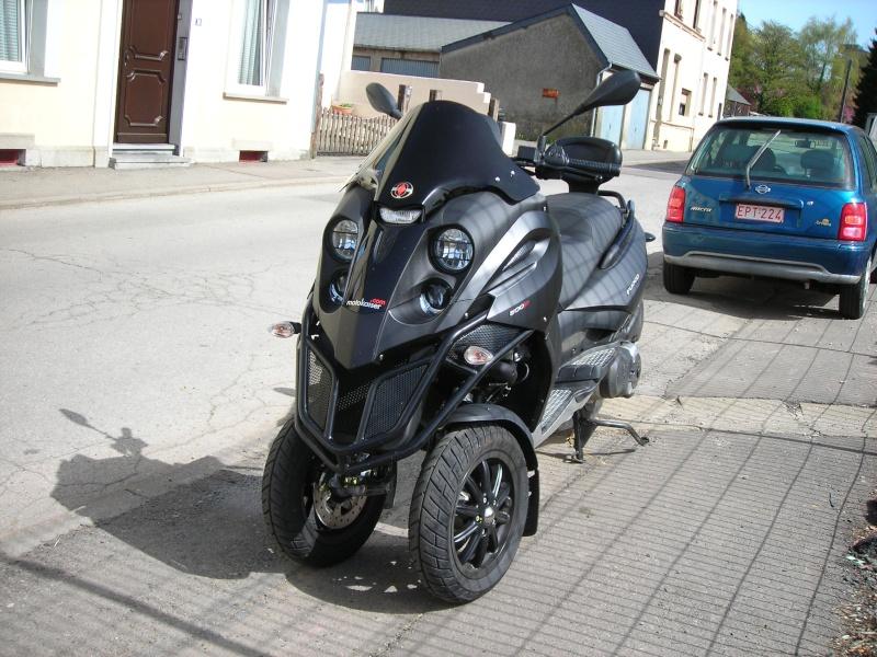 Première impression pour mon scooter Fuoco: G E N I A L - Page 2 Dscn5417