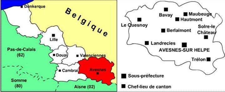 Région Nord-Pas-de-Calais Carte-10