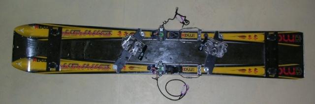 Split 3 partie avec une base de skis Surf9812