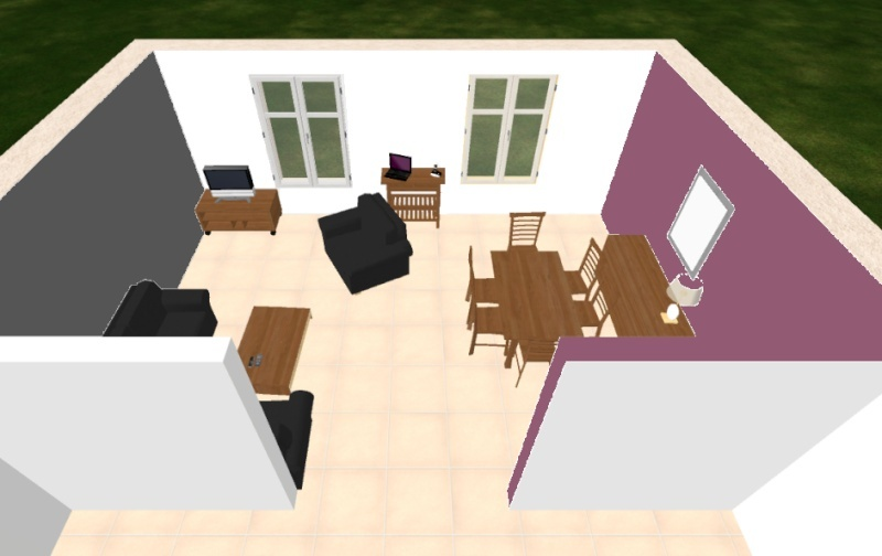 Transformation de notre salon/salle à manger - Page 2 Mur_fi10