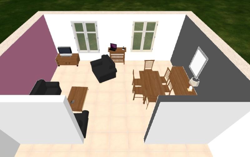 Transformation de notre salon/salle à manger - Page 2 Mur_fi11