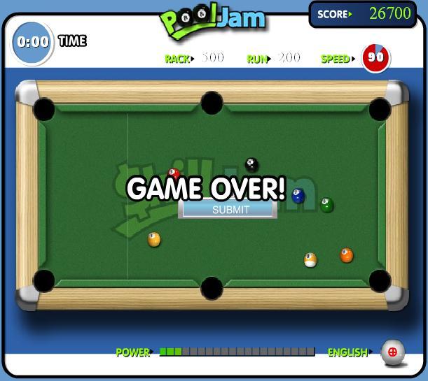 pour les visiteurs , un petit jeu de billard Poolja10