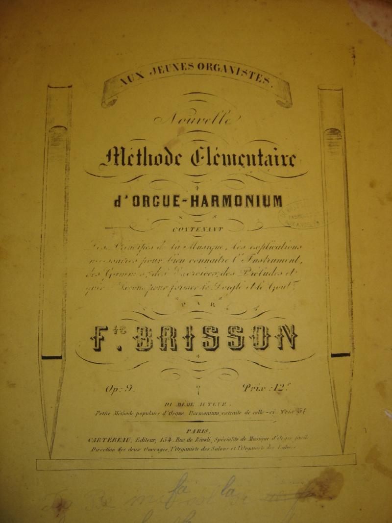 Inventaire des méthodes d'harmoniums Dsc04313