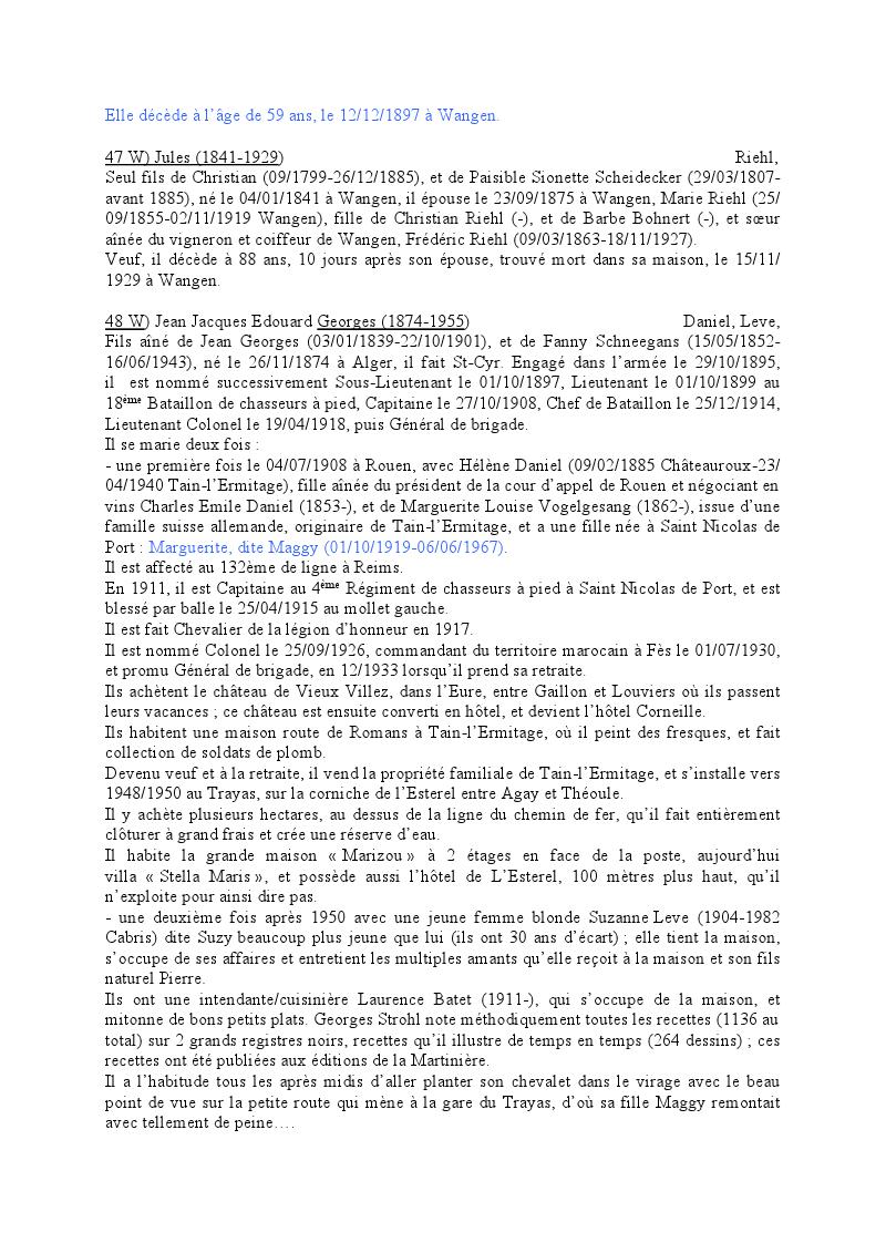 Généalogie des Strohl de Wangen 1410