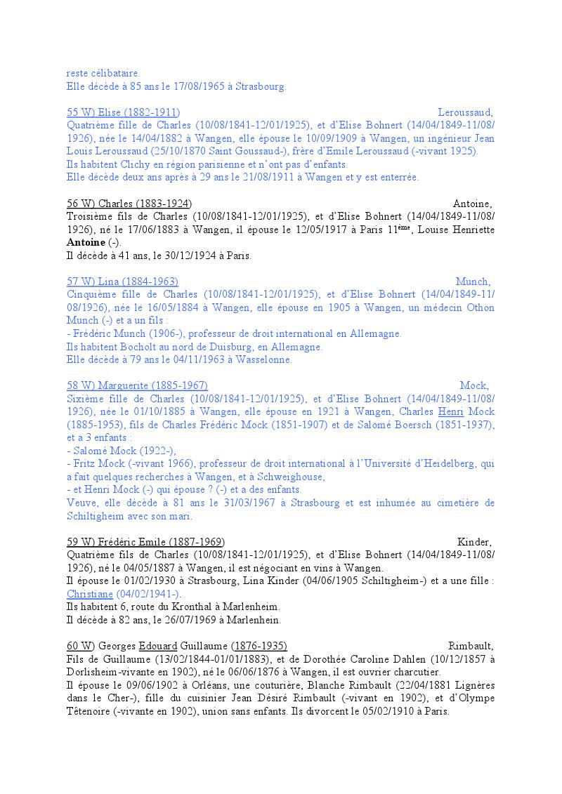 Généalogie des Strohl de Wangen 1710