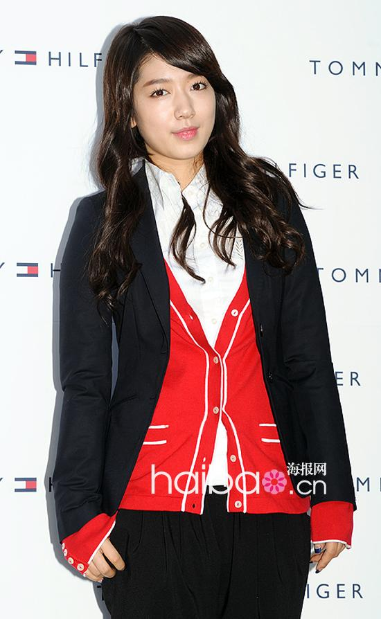 Park Shin Hye's New Hair style ( Tommy Hilfiger's Brand New Item) Aoaaaa10