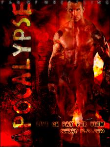 Plus belle affiche de la fédération virtuelle Apocal10