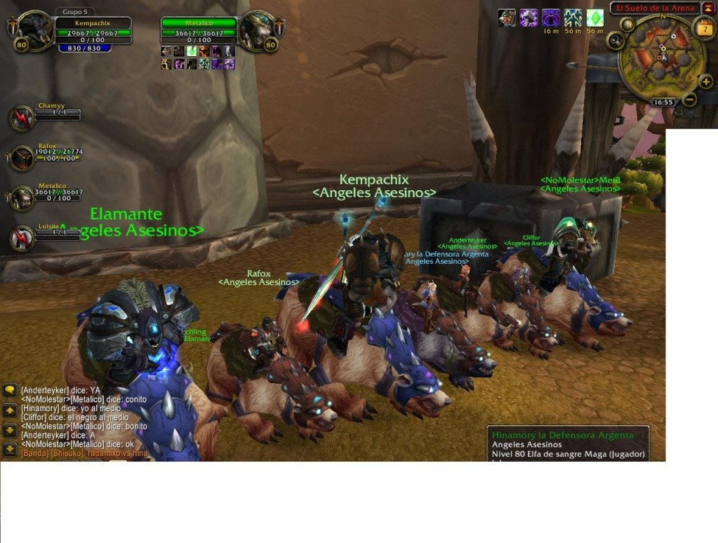 LAS FOTOS DEL GUILD WN PLENO PVP Wowscr13