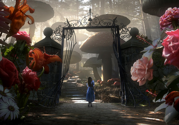 Alice in Worderland (de Tim Burton) Alice-10