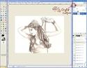 Extraire et Colorier un Line dans GIMP Tutogi27