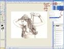 Extraire et Colorier un Line dans GIMP Tutogi28