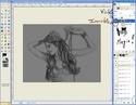 Extraire et Colorier un Line dans GIMP Tutogi30