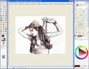 Extraire et Colorier un Line dans GIMP Tutogi34