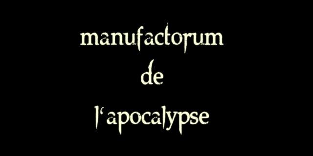 manufactorum de l'apocalypse