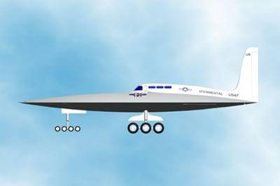 USAF Space shuttle/Flying Saucer 3-162710