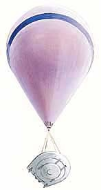 USAF Space shuttle/Flying Saucer Ballon10