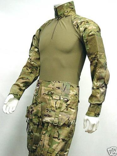 [VDS] Tenue EA Gear Multicam serie Tactical Neuve Taille L Pantalon+Haut+Genouillères/Coudières Captur10