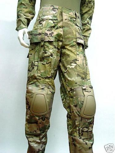 [VDS] Tenue EA Gear Multicam serie Tactical Neuve Taille L Pantalon+Haut+Genouillères/Coudières Captur11