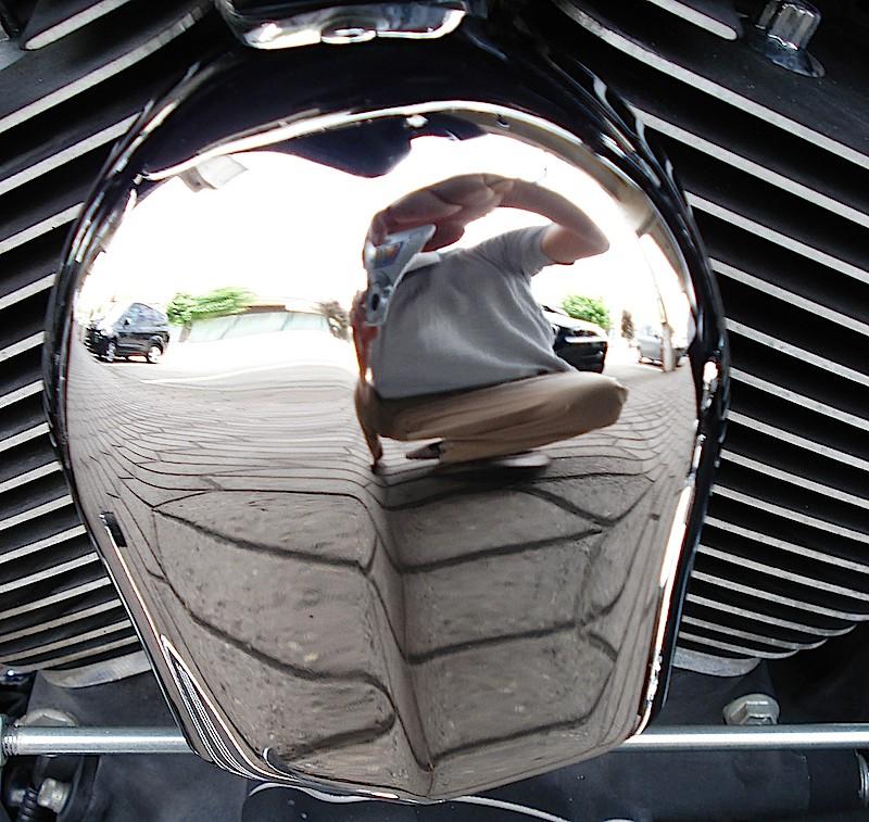 Manu &  Harley Davidson  Street Glide Crom10