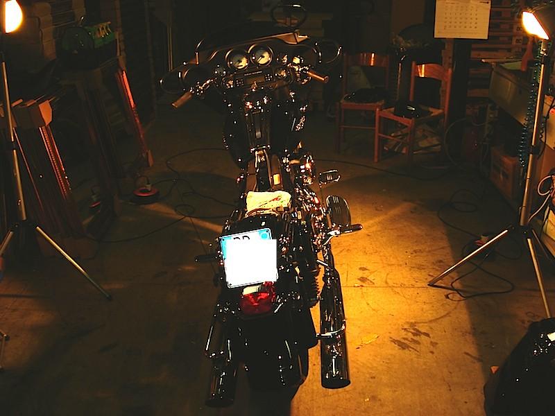 Manu &  Harley Davidson  Street Glide Dsc02017