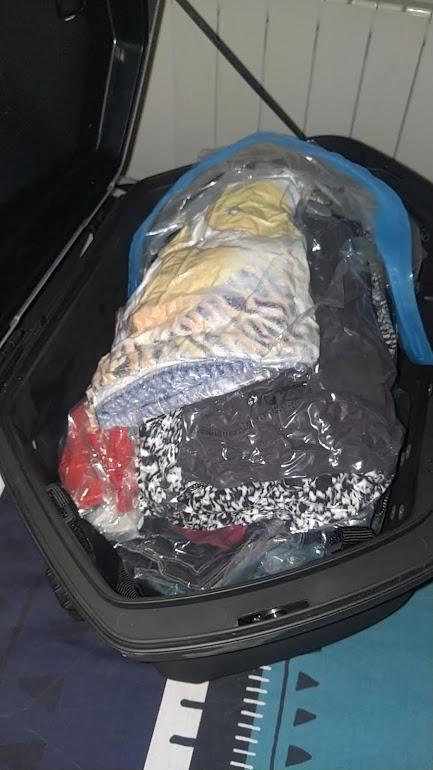 Quel kit de valises pour Tracer? 216