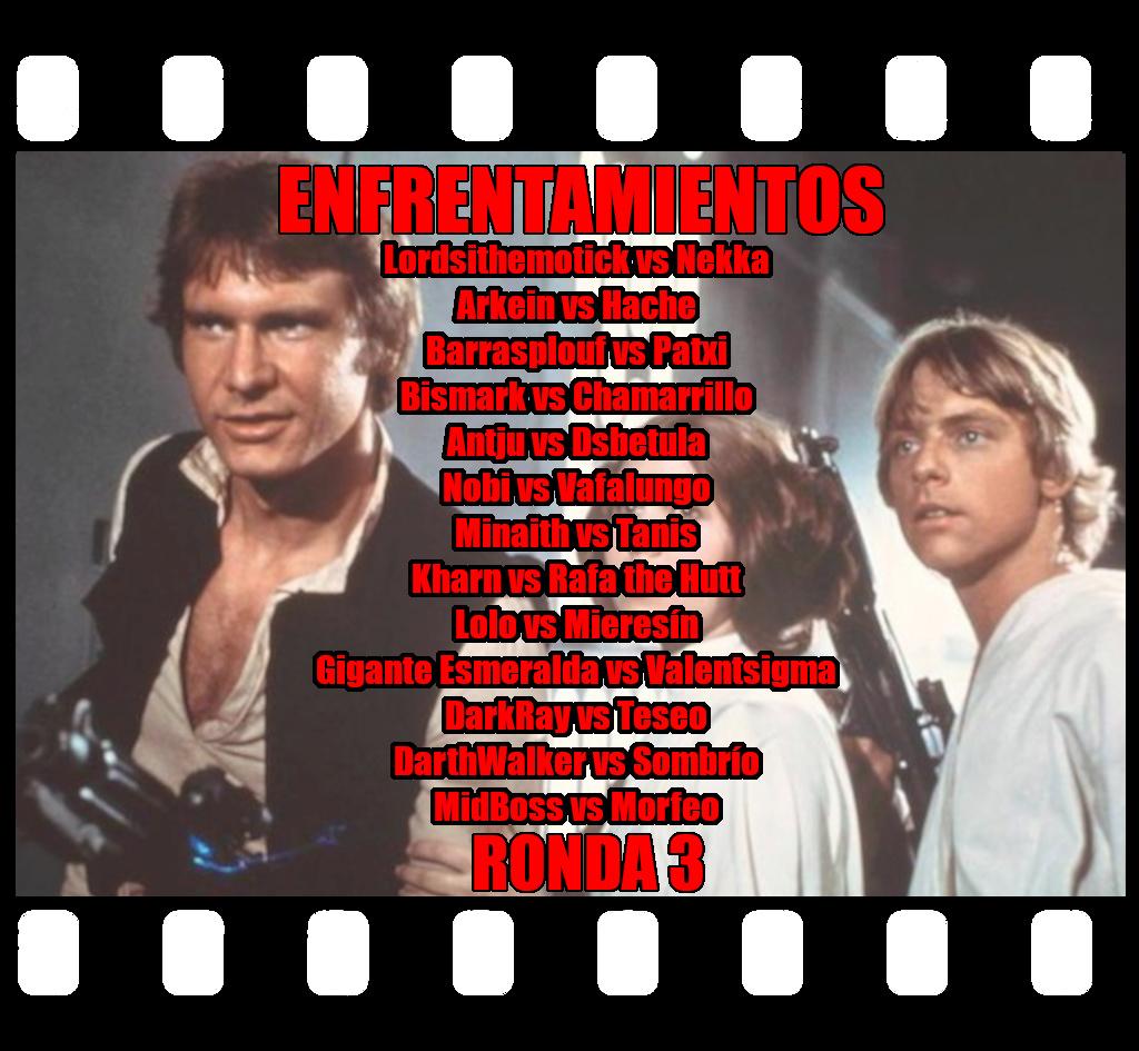 *** ECOS 2.0.3 - RONDA 3 - EL MIEDO LLEVA A LA IRA.... *** Ronda311