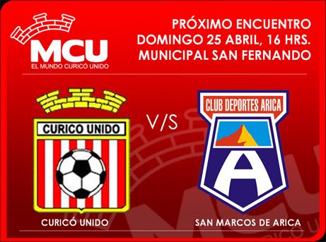 PREVIA CURICO UNIDO V/S SAN MARCOS DE ARICA 01_ula11