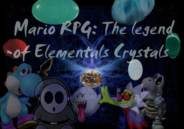 Mario RPG: The Legend of Elementals Crystals Galxie10
