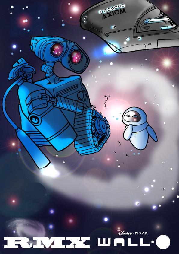 Wall-E et Eve Dans l'espace Wall_e10