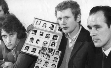 What did McGuinness do in the lost 25min on Bloody Sunday? Articl13