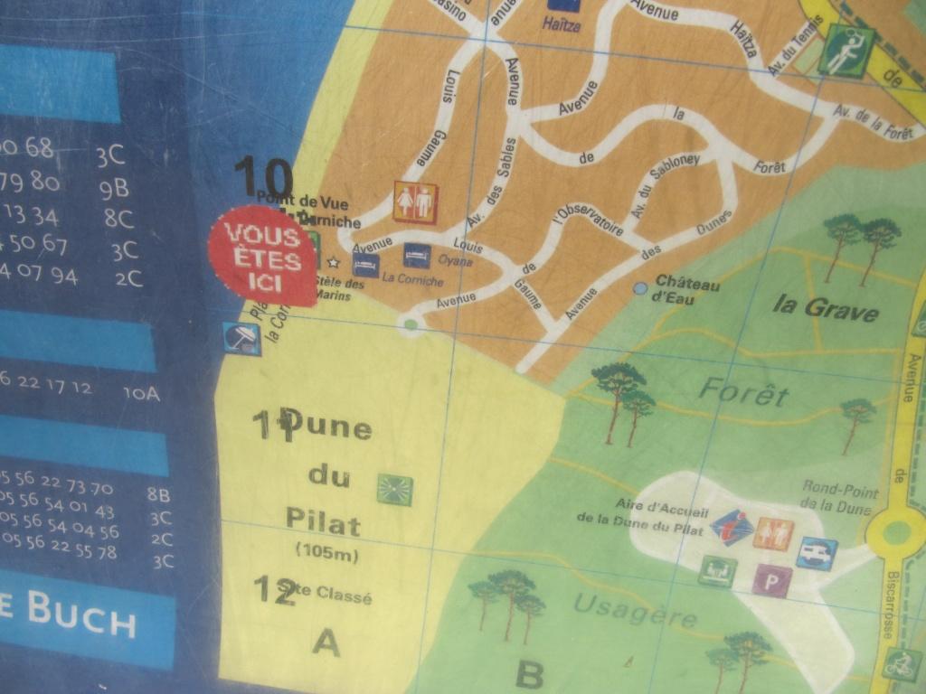 photos de la dune du Pyla le 20 5 10,vue d'en bas Img_1518