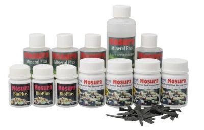la référence en nourriture et produits divers pour les crevettes Mosura10