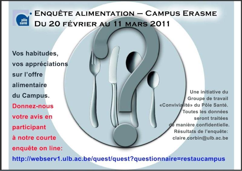 [PS] Enquête Alimentation du Campus Erasme Enquat10