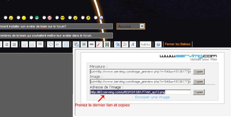 [FAQ] Comment installer son avatar de team sur le forum? Drt_tu14