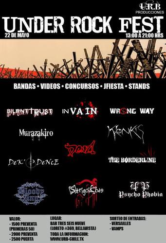 Under Rock Fest; Sabado 22 de Mayo, Bar Under 12732310