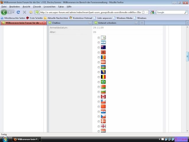 Benötige CSS Code für Login Bereich um Flaggen nebeneinander steht Fehler12