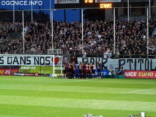 L1/ 38ème journée :  Nice - Saint-Etienne Nist8110