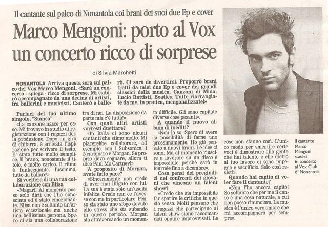 Re Matto Tour: notizie e recensioni - Pagina 2 Marco211